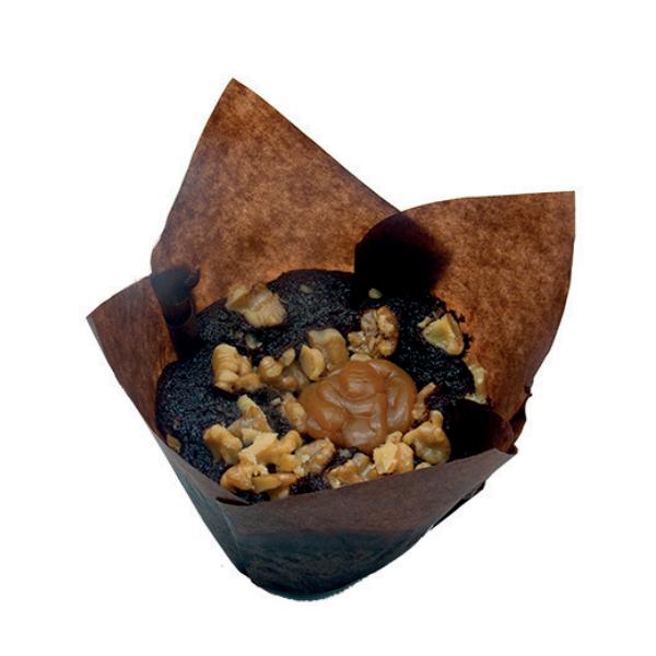 Chocolate negro, nueces y toffe